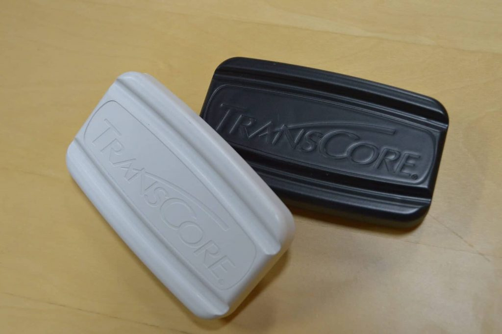 Equipment Wrap - Transponder from white to black display