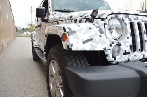 Jeep Full Car Wrap Front - Vinyl Wrap Toronto