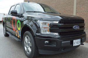 Toronto Car Wrap - Nusens Lettering & Decal Side