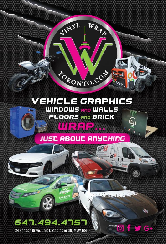 Vinyl Event Toronto Event - Vehicle Wrap