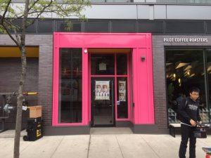 Storefront Wrap Toronto - Pink Store | Vinyl Wrap Toronto - Vehicle Wrap In Toronto - Print Shop