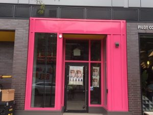 Storefront Wrapping Toronto - Pink Wrap Signage | Vinyl Wrap Toronto - Vehicle Wrap In Toronto - Print Shop