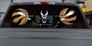 Truck Decal View Vinyl Wrap Toronto - Vehicle Wrap In Toronto - Splatter effect wrap