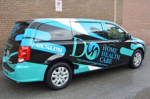 Vinyl Wrap Toronto - Vehicle Wrap In Toronto - Print Shop - Do Home Health Care - Avery Dennison