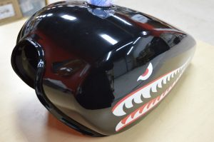 Vinyl Wrap Toronto - Vehicle Wrap In Toronto - Print Shop - Motorcycle Tank Wrap Toronto