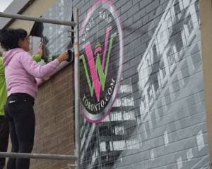 Vinyl Wrap Toronto - Vehicle Wrap In Toronto - Wall graphics Wrap - Installation Process