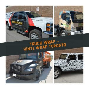 Vinyl Wrap Toronto - Vehicle Wrap In Toronto - Print Shop - Truck Vinyl Wrap Toronto