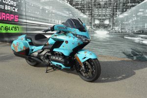 Vinyl Wrap Toronto - Vehicle Wrap In Toronto - Print Shop - Motorcycle Wrap