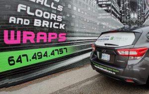 Vinyl Wrap Toronto - Vehicle Wrap In Toronto - Print Shop - Decals Subaru GTA