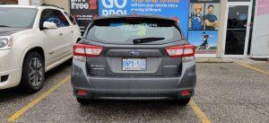 Vinyl Wrap Toronto - Vehicle Wrap In Toronto - Print Shop - Greenfield Subaru Before Back - Vinyl Decals