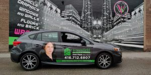 Vinyl Wrap Toronto - Vehicle Wrap In Toronto - Print Shop - Greenfield Subaru Side - Decals
