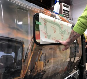 Vinyl Wrap Toronto - Vehicle Wrap In Toronto - Print Shop - Rock Bottom - Full Truck Wrap