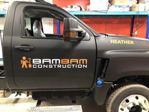 Vinyl Wrap Toronto International CV Series 2020 Avery Dennison Black Truck Full BamBam Main