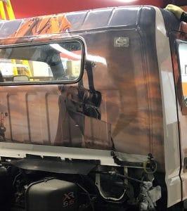 Vinyl Wrap Toronto Mitsubishi Fuso 2019 Avery Dennison White Truck Full Rock Bottom Installation