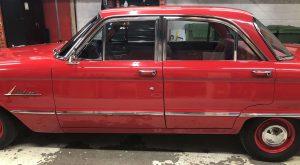 Vinyl Wrap Toronto Ford Falcon 1962 3M Light Ivory Car Partial Roof