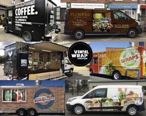 Vinyl wrap toronto Mobile Business Wraps Food Barber Hairdresser Flowers Wraps Coffee - Vinyl Decals Cost