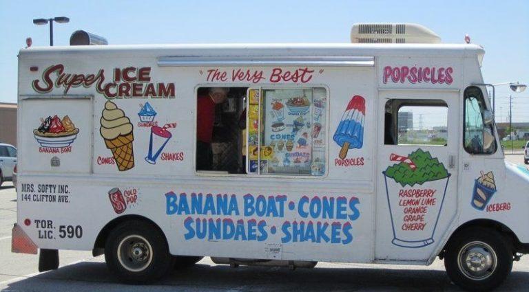 Vinyl wrap toronto Mobile Business Wraps Food Ice Cream Truck (2) - Vinyl Wrap Cost