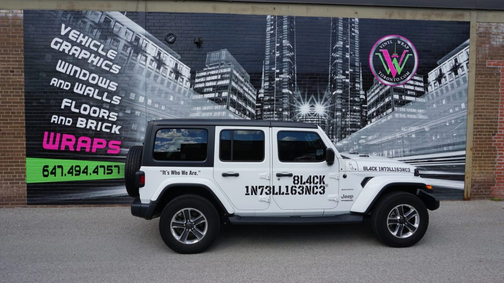 Car Decals - Lettering - Stickers - Vinyl Wrap Toronto - Vehicle Wrap
