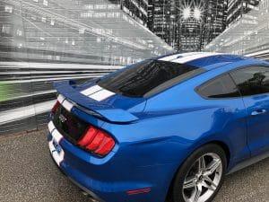 Vinyl Wrap Toronto Ford Mustang Racing Stripes - Pricing