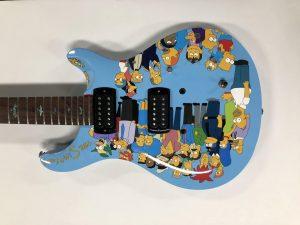 Equipment Wrap - Guitar Vinyl Wrap - Cartoons - Vinyl Wrap Toronto