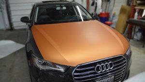 Audi - A3 - Sedan - 2019 - Partial Car Wrap - Personal - Vinyl Wrap Toronto - Vehicle Wrap In GTA