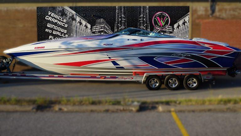 Boat Wrap - Vinyl Wrap Toronto