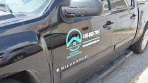 Chevrolet - Silverado - 2018 - Decals - PandK Roofing - Lettering - Vinyl Wrap Toronto - Stickers - Vehicle Wrap in Etobicoke