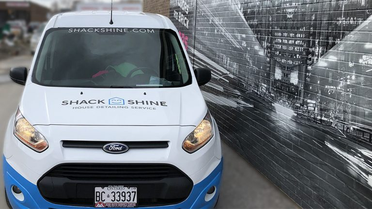 Ford Transit - CONNECT XLT - 2018_7 - Vinyl Wrap Toronto - Van Wrap, decals, lettering, paint protection film, auto tinting