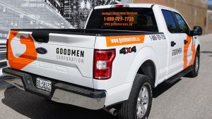 Ford - F150 - Supercrew Cab - 2020 - Decals - Goodmen Corp - Lettering - Vinyl Wrap Toronto - Avery Dennison & 3M - Vehicle Wrap in GTA