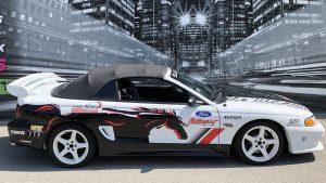 Ford - Mustang - Saleen - 1996 - Partial Car Wrap - Fine Tuned Auto - Vinyl Wrap Toronto - Vehicle Wrap in Etobicoke