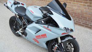 Full Wrap - Ducati Motorcycle - Side - After - Vinyl Wrap Toronto - Racing Stripes - Vaughn