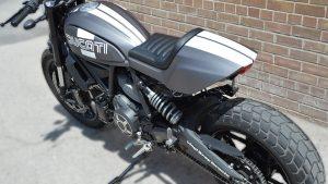 Full Wrap - Motorcycle - Giovani Ducatti Side After - Vinyl Wrap Toronto - Vehicle Wrap in GTA
