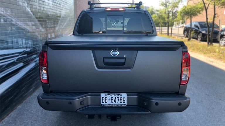 Full Wrap - Nissan Frontier - back - Vinyl Wrap Toronto - Vehicle Wrap - Lettering & Decals - Tinting - Truck Wrap in Etobicoke
