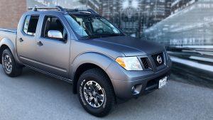 Full Truck Wrap - Nissan Frontier - Vinyl Wrap Toronto - Vehicle Wrap - Racing Stripes - Window Tinting
