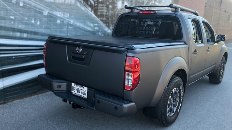 Full wrap - Nissan Frontier - side - Vinyl Wrap Toronto - Truck Wrap in Mississauga - Decals - Tinting - Paint Protection - Avery Dennison & 3M - Custom Truck Wrap Cost in Toronto GTA