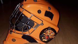 Goalie Mask - Vinyl Wrap Toronto - Vehicle Wrap - Equipment Wrap in Brampton - Custom Helmet Wrap Cost in Toronto GTA