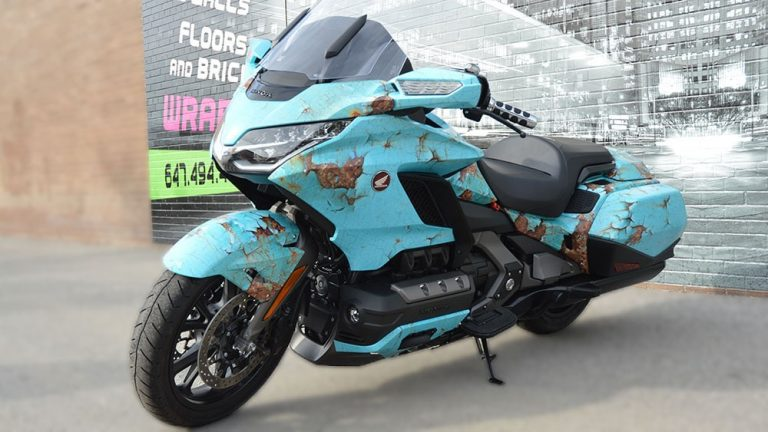 Honda - Goldwing - Full - Personal - Vinyl Wrap Toronto - Lettering & Decals - Vehicle Wrap in Etobicoke