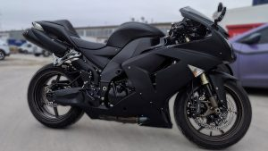Kawasaki - Ninja - ZX-10R - Full - Personal - Vinyl Wrap Toronto - Racing Stripes - Avery Dennison & 3M - Vehicle Wrap in Mississauga
