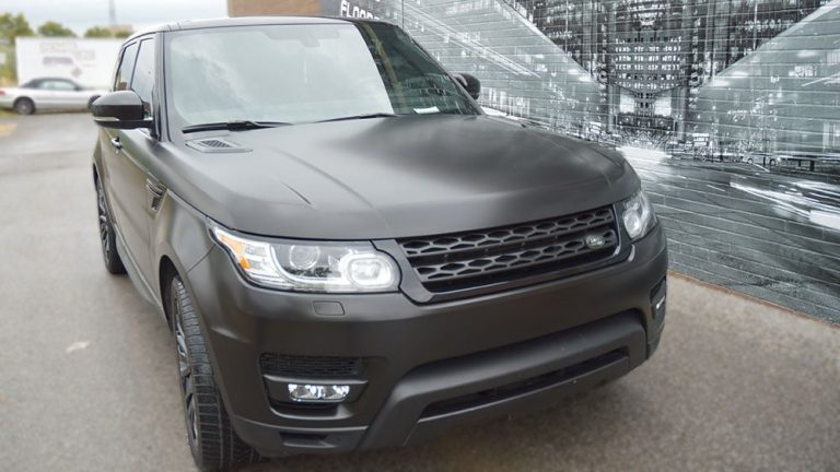 Vinyl Wrap Toronto - Range Rover Jeep & SUV Full Wrap - Vehicle Wrap In Toronto - Print Shop