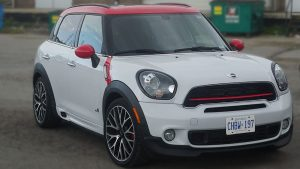 Mini - Countryman - 2018 - Decals - Personal - Vinyl Wrap Toronto - Red - Stickers - Vehicle Wrap in Brampton