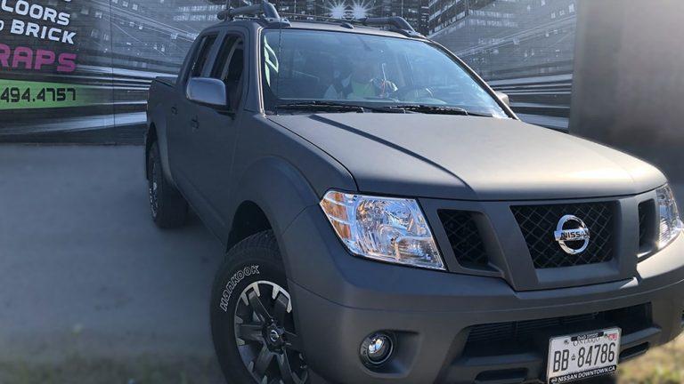 Nissan - Frontier - 2020 - Full Truck Wrap - Personal - Vinyl Wrap Toronto - Vehicle Wrap in Etobicoke