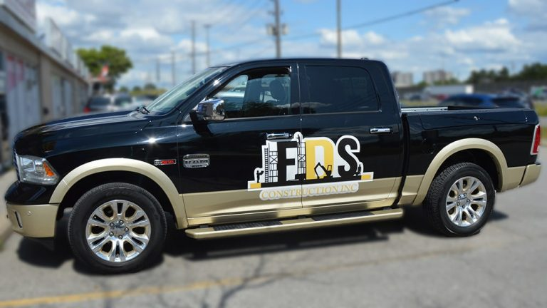 RAM - 1500 - Tradesman - Decals - FDS - Lettering - Vinyl Wrap Toronto - Avery Dennison & 3M - Vehicle Wrap in Vaughn