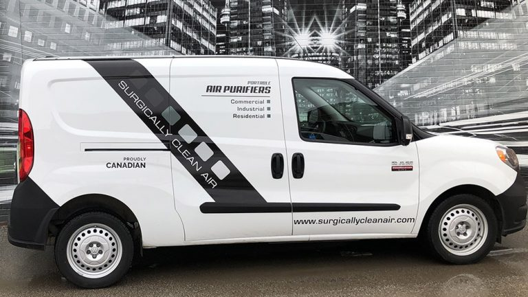 RAM - Promaster City - 2020 - Decals - Surgically Clean - Vinyl Wrap Toronto - Lettering - Van Wrap in GTA