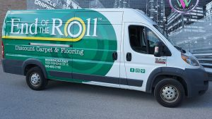 RAM - Promaster - Van - 2020 - Full - End of Roll - Vinyl Wrap Toronto - Lettering & Decals - Vehicle Wrap in GTA