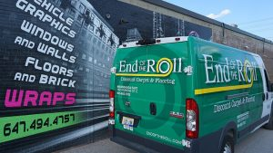 RAM - Promaster - Van - 2020 - Full - Rear View - End of Roll - Vinyl Wrap Toronto - Vehicle Wrap in Etobicoke