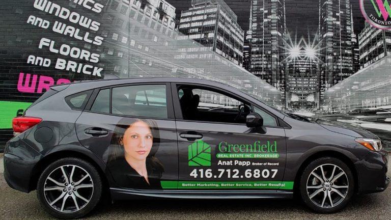 Vinyl Wrap Toronto - Vehicle Wrap In Toronto - Print Shop - Greenfield Subaru Side - Decals - Custom Vinyl Decals