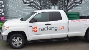 Toyota - Tundra - 2015 - Decals - Racking - Lettering - Vinyl Wrap Toronto - Avery Dennison & 3M - Vehicle Wrap in Mississauga