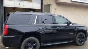 Chevy Tahoe - Window Tinting in Toronto - Vinyl Wrap Toronto - Vehicle Tinting - Headlight - Custom Vehicle Wraps in Toronto