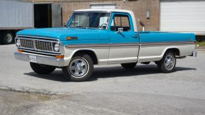 Ford - 100 Ranger XLT - 1970 - Decals - Personal - Avery Dennison - Custom truck decals near me