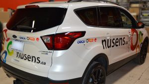 Ford - Escape - 2019 - Decals - Nusens